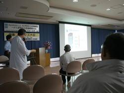 ミニ講演 内視鏡手術ESDの話(東口Dr)
